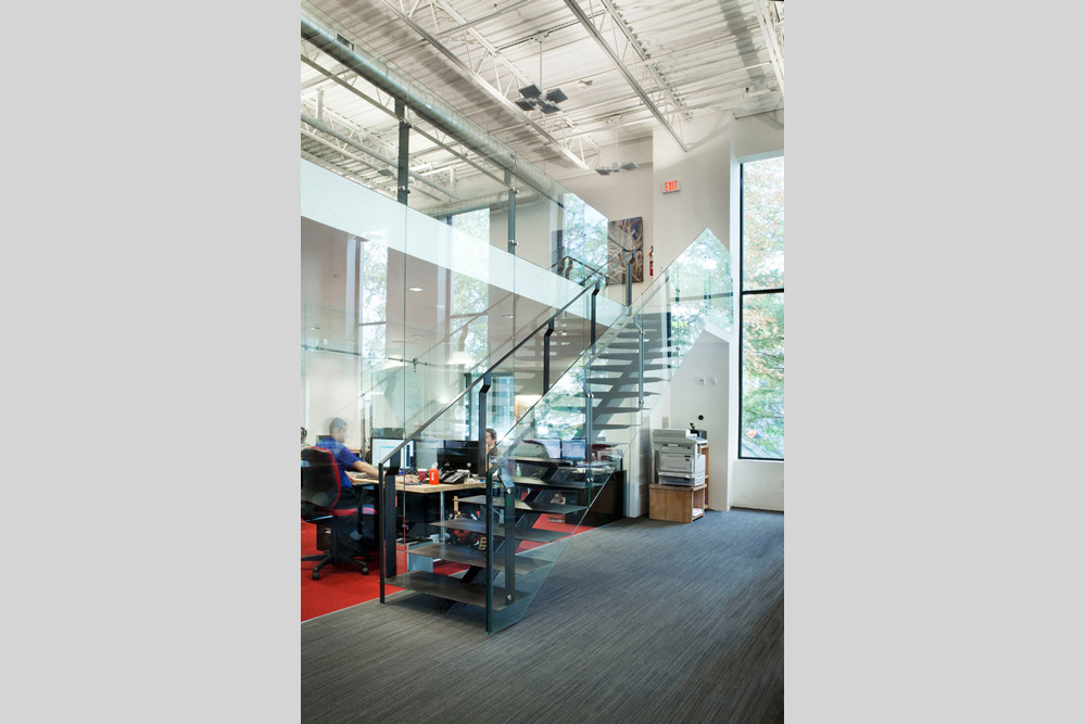 RAB Lighting Offices in Northvale, NJ designed by Soluri Architecture