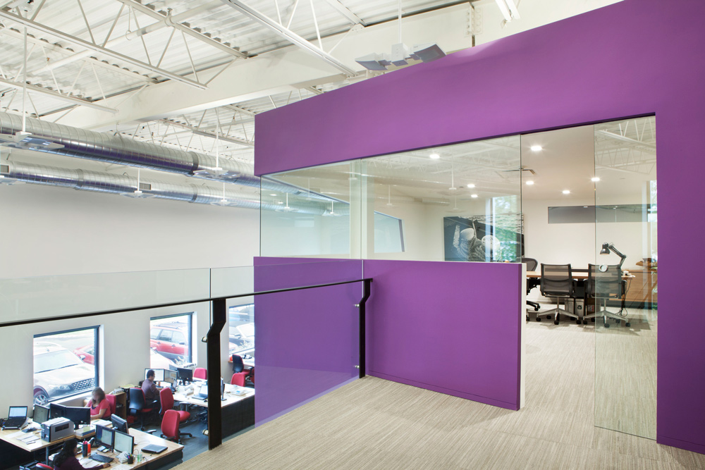 Rab renovation soluri architecture for Interior exterior building supply corporate office