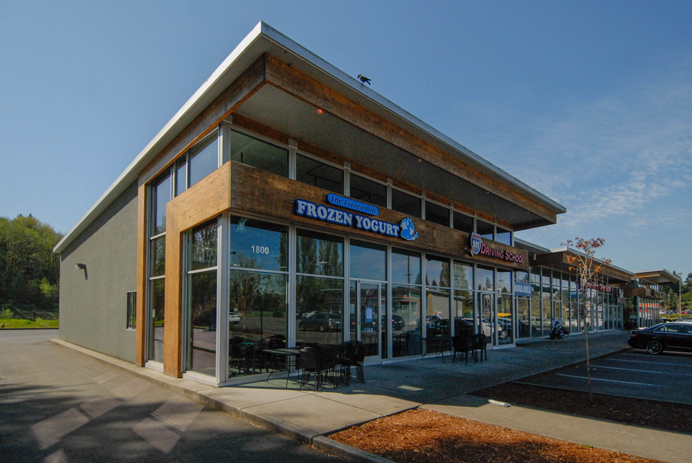 Mile Hill Retail Center in Port Orchard, WA by Soluri Architecture