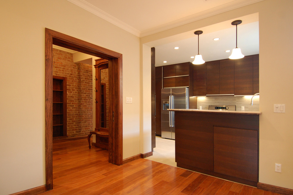 Renovation of a landmarked brownstone in Park Slope, Brooklyn in New York City by Soluri Architecture