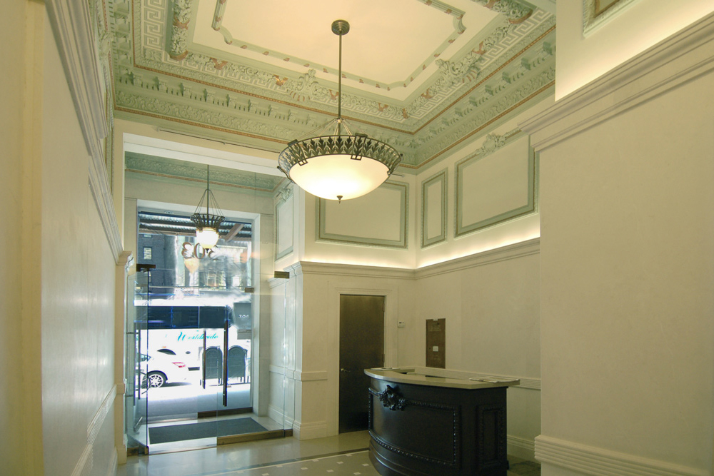 lobby renovation of 303 5th Ave by Soluri Architecture