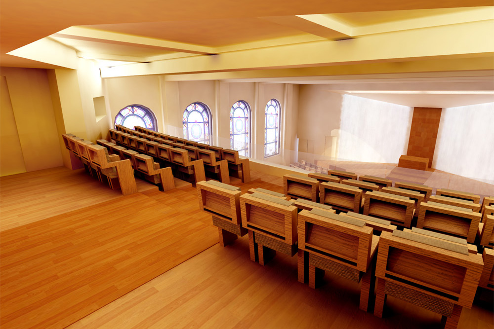 Jewish Community Center & Synagogue designed by Soluri Architecture