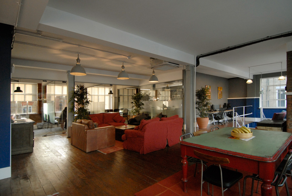 Eurasia Group London Office designed by Soluri Architecture