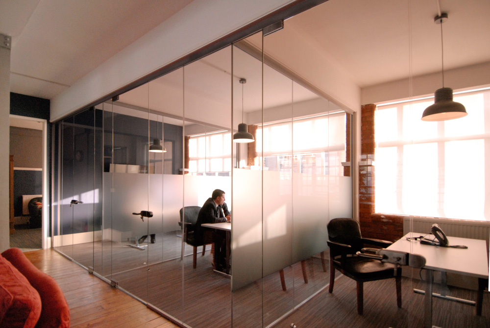 Eurasia Group London Office designed by Soluri Architecture - conference rooms